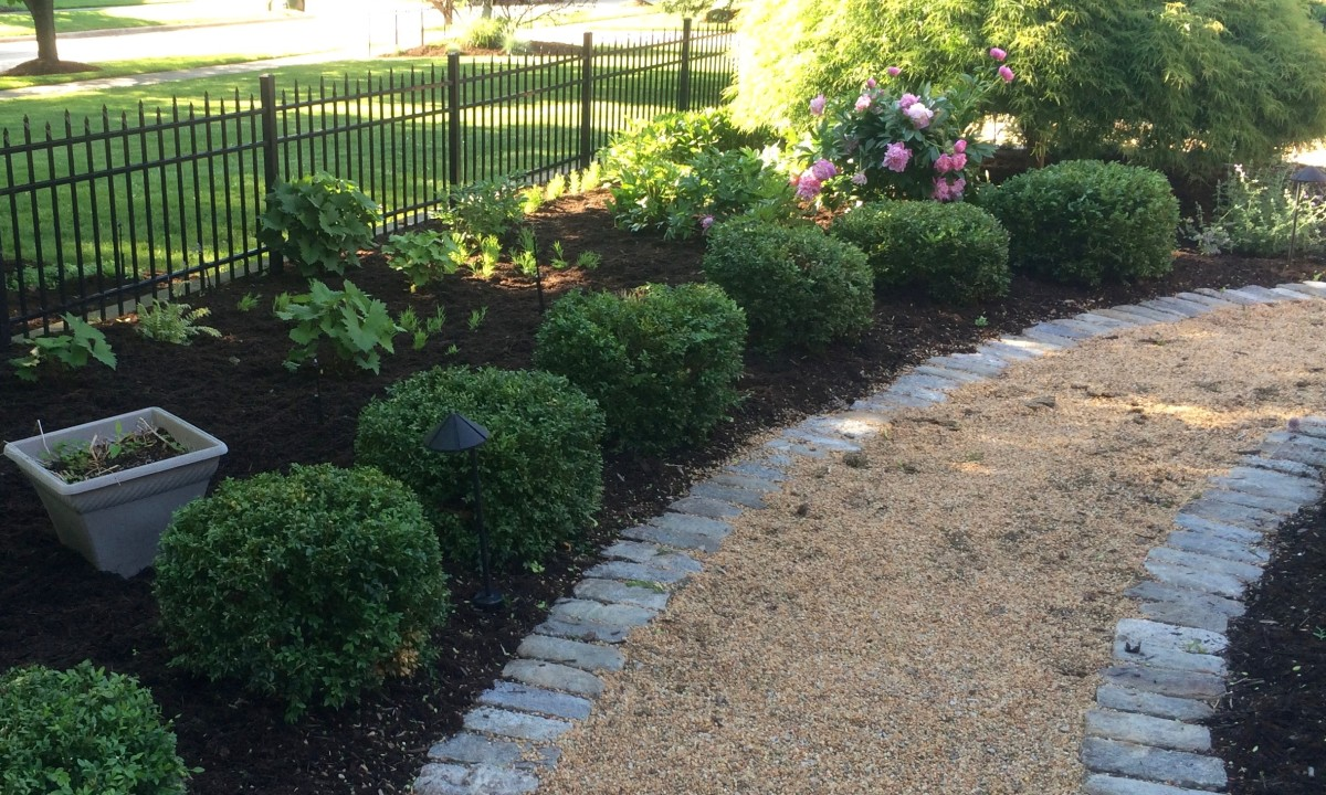 Mulching and Bed Maintenance